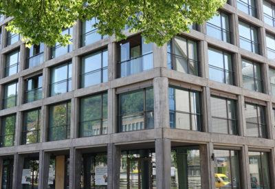 Vorfabrikation Fassadenelemente Beton