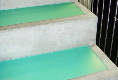Einlagen für individuelle Treppen-Oberflächen