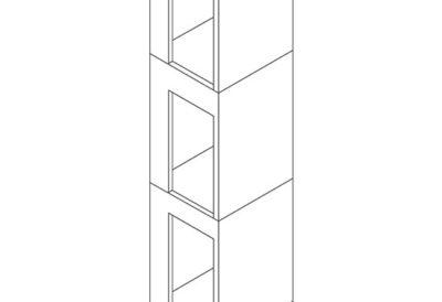 Liftschachtelemente Turm