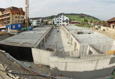 Tiefgaragensystem in Rickenbach