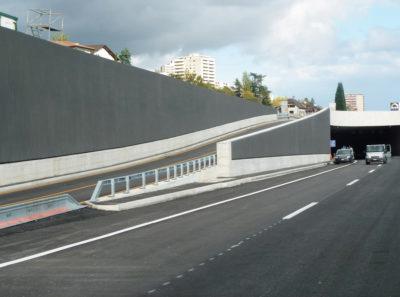 FAVERIT® Lärmschutzelemente N 5 Tunnel Sérrières, Neuchâtel NE