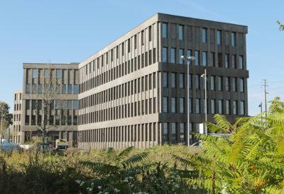Fassadenelemente Strafjustizzentrum, Muttenz BL