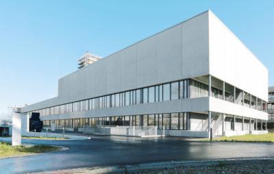 Fassadenelemente Spital Region Oberaargau SRO, Langenthal BE