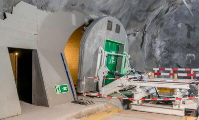Betonelement für den Tunnelbau, Elkuch Eisenring AG, Jonschwil SG