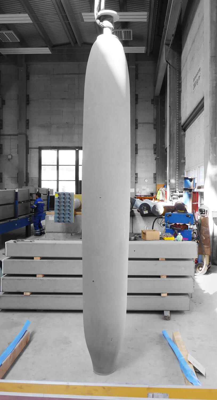 Stahlbetonstützen Maison Davidoff, Basel BS
