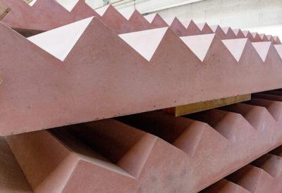 Vorgefertigte Treppenelemente aus Beton