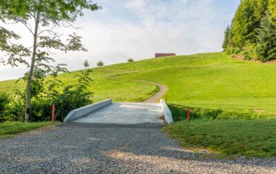 Betonbrücke Golfpark Oberkirch
