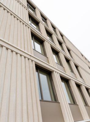 Fassadenelemente Schulhaus Hofmatt, Meggen