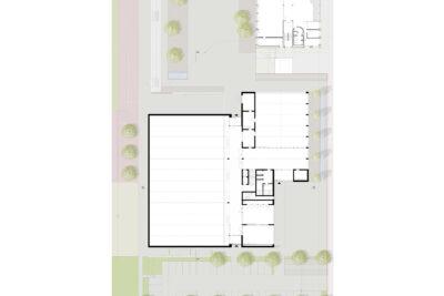 Erdgeschoss Schul- und Sportzentrum Oberarth